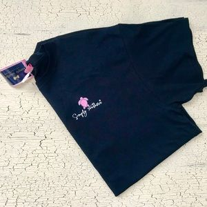 NWT Simply Southern navy blue T-shirt size XL